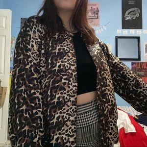 Dolls Kill Jackets & Coats - Cheetah windbreaker